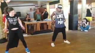 Bojana and Freddy Clan CAS Corfu 2016 salsa con reggaeton
