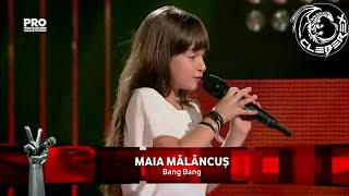 "Maia Malancus - The winner of ""Vocea Romaniei Junior"""