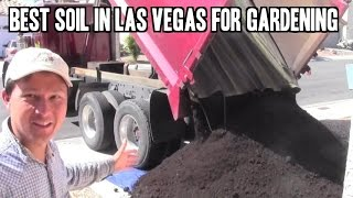 Filling My Raised Bed Garden with Soil & Compost in Las Vegas