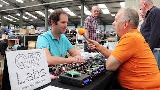 QRP Labs Successful JOTA Kit - ICQ Amateur/Ham Radio Podcast at UK Hamfest 2017