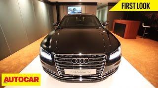 Audi A8L Security | First Look | Autocar India