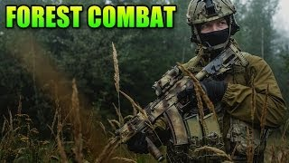 Airsoft Forest Adventures - Elite Force M27 IAR Gameplay