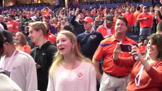 TigerNet.com - Shadell Bell interviews girl who has to choose between Clemson and South Carolina
