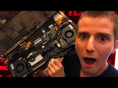 5 POUNDS of Heatpipe Cooling MSI GT83