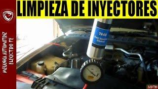LIMPIEZA DE INYECTORES CON BOYA (teoria y practica)
