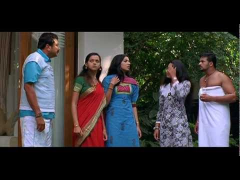 Malayalam Movie | Happy Husband Malayalam Movie | Bhavana Quarrels with Vandana | 1080P HD