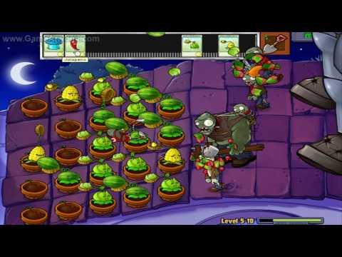 Plants Vs. Zombies HD Level 5 10 Ending