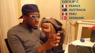World Cup 2018 Group C Analysis    France, Australia, Peru, Denmark
