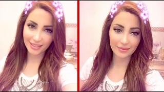 شاهد فرحة نسرين طافش بتخطي اغنيتها المليون مشاهد عاليوتيوب