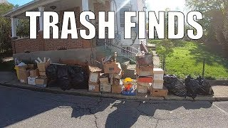 TRASH PICKING SCORE! Auction Haul and More...