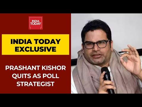 Prashant Kishor Makes Big Announcement Quits As Poll Strategist