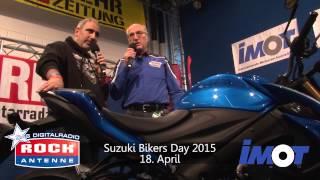 ROCK ANTENNE - IMOT 2015 - Präsentation der Suzuki GSX S 1000 und der V Strom 1000
