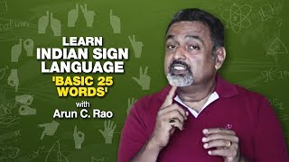 Learn Indian Sign language