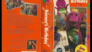 Barney's Birthday [VHS] (1992)