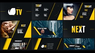 Entertainment+TV+Broadcast+Package+%7C+After+Effects+template
