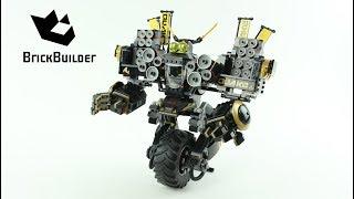 Lego Ninjago 70632 Quake Mech  - Lego Speed build