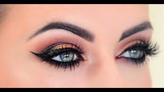 Rose gold makeup tutorial