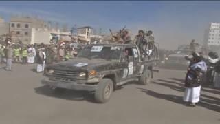 قبائل مديرية شعوب بأمانة العاصمة تعلن النكف والنفير العام لمواجهة العدوان  دخول السيارات