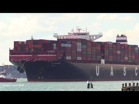 Xxx Mp4 UASC 39 Al Murabba 39 Container Ship Departure Southampton To Port Said Suez 03 06 18 3gp Sex