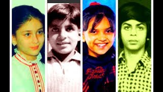 Top 50 Bollywood Celebritis Rare  Childhood Pictures 2017