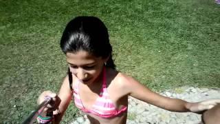 Diana C Carmo:Diana na piscina parte 2°