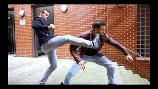 Stunt Fight - Knockout Chase | Parkour meets Stunts