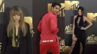 #MTVMovieAwards Red Carpet Kendall Jenner, Gigi Hadid, Cara Delevigne + More!