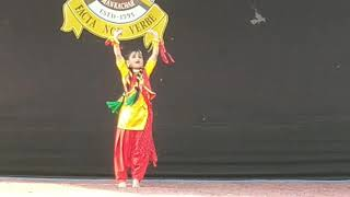 Punjabi Dance By Gurukul Fine Arts Student Mankachar