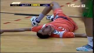 إصابة منير ابو الرحي