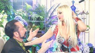 Gülşah'ın Adnan Oktar ile yakın temas dansı