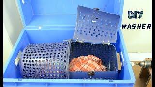 How to Make Washing Machine at Home - DIY Washer