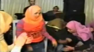 رقص بنت محجبه في فرح