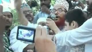 Delwar hossain sayeedi son rafik bin sayeedi janaza