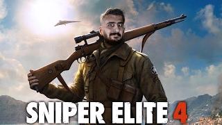 BİR MERMİ TÜM TARİHİ DEĞİŞTİREBİLİR !   SNIPER ELITE 4