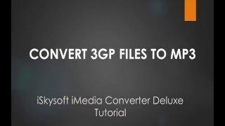 Convert 3GP to MP3 on Mac OS X 10.11 El Capitan - Video Tutorial