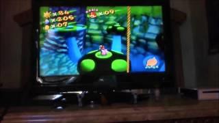 Super Mario Sunshine 120 Shine Run Pianta Village Secret of the Village Underside 1