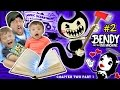Download Video DON'T SCARE MY BABY! Bendy and the Ink Machine #2 CHAPTER TWO (FGTEEV plays SCARY MICKEY MOUSE Game) 3GP MP4 FLV