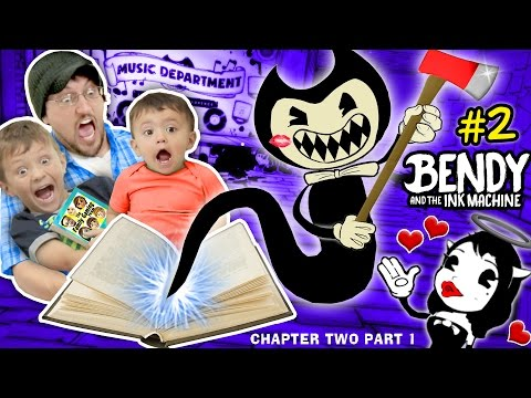 Xxx Mp4 DON 39 T SCARE MY BABY Bendy And The Ink Machine 2 CHAPTER TWO FGTEEV Plays SCARY MICKEY MOUSE Game 3gp Sex