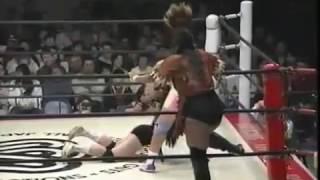 WWE Burunakano, Hasegawa Sakie vs Toumada Manami, Inoue Kyoko 1 3