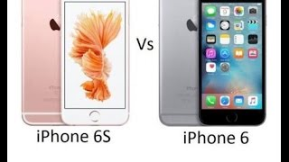 Iphone 6s vs iphone 6 full comparison -camera test ,battery test,speed test full review