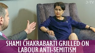 Full Interview: Shami Chakrabarti Grilled on Labour Party Anti-Semitism | J-TV