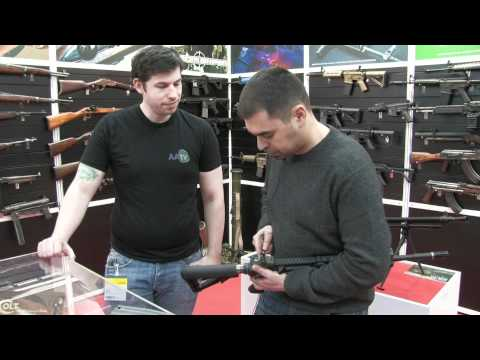 AATV @ IWA 2012: Airsoft Systems M4 All European PTW