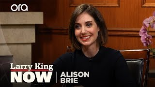 If You Only Knew: Alison Brie | Larry King Now | Ora.TV