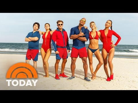'Baywatch' Exclusive Official Trailer (2017) - Dwayne Johnson, Zac Efron | TODAY