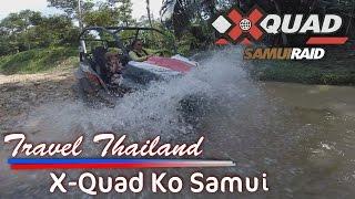 Travel Thailand X-Quad Ko Samui RZR Offroad ATV Tour
