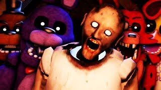 [FNAF/SFM] Slendrina Granny & FNAF Animatronics Cell Phone Spooky  Jumpscare Animation Compilation