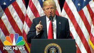 President Trump To FBI Academy Grads: I'm A 'True Friend And Loyal Champion' To Police | NBC News