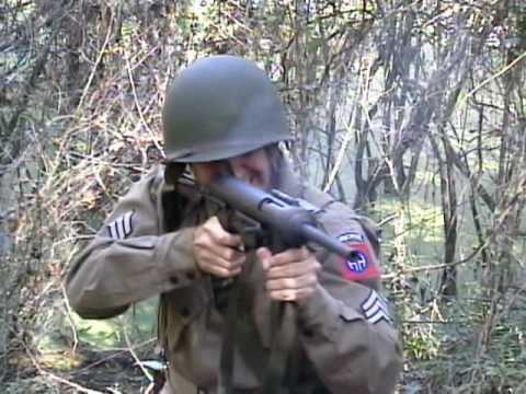 Shooting the M3 Grease Gun