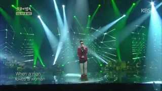 [HIT] 불후의 명곡2, 마이클볼튼(Michael Bolton)특집-박재범(Jay Park) - When a man loves a woman.20141018