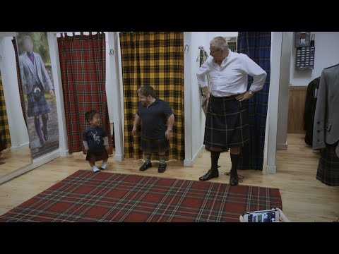 How Will The Klein Men Look In Their Custom-Tailored Scottish Kilts? | The Little Couple